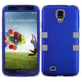 BasAcc Titanium Dark Blue/ Grey TUFF Case for Samsung Galaxy S4