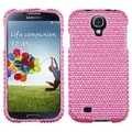 BasAcc Pink/ White Dots Diamante Case for Samsung Galaxy S4 i9500