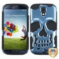 BasAcc Sky Blue/ Black Skullcap Hybrid Case for Samsung� Galaxy S4