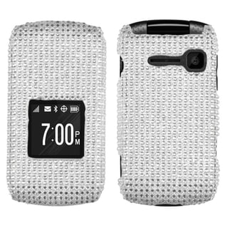 BasAcc Silver Diamante Case for Kyocera C2150