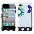 BasAcc Flowers in Fresh Wind Case for Apple iPhone 4/ 4S