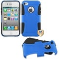 BasAcc Dark Blue/ Black Frosted Fusion Case for Apple iPhone 4/ 4S
