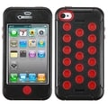 BasAcc Natural Black/ Red TUFF Hybrid Case for Apple iPhone 4/ 4S
