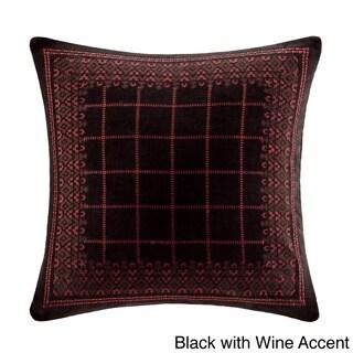 Artology Sari Cotton Embroidered Pillow