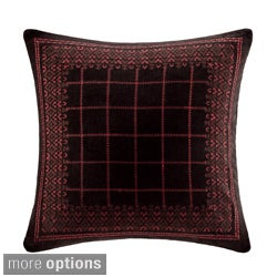 Artology Sari Cotton Embroidered Pillow