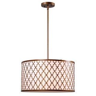 Voiron 3-light Oil Rubbed Bronze Pendant
