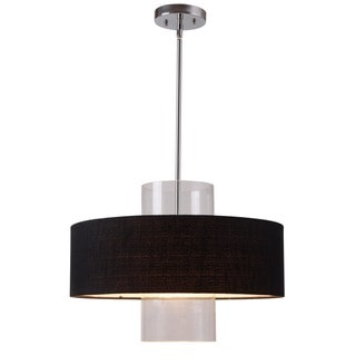 Ballac 3-light Antique Nickel Pendant