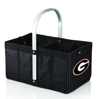 University of Georgia Bulldogs Black Urban Picnic Basket