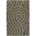 Hand-tufted Zoe Blue Wool Rug (9' x 12')