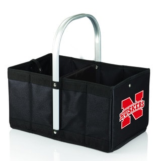 University of Nebraska Cornhuskers Black Urban Picnic Basket