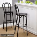 Simple Living Vintage Inspired Adjustable Bar Stools (Set of 2)