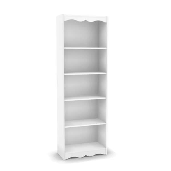 Sonax Hawthorn Frost White 72-inch Tall Bookcase - 15641249 - Overstock.com Shopping - Great ...