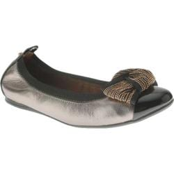 Women's Azura Dewdrop Pewter Leather/Patent Polyurethane