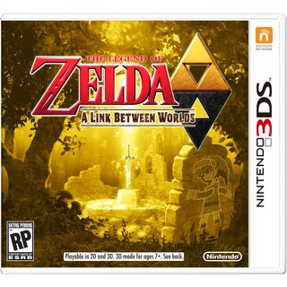 3DS - Legend of Zelda: A Link Between Worlds