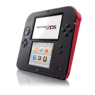 Nintendo 2DS Hardware Crimson Red