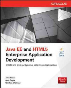 Java Ee and Html5 Enterprise Application Development (Paperback)