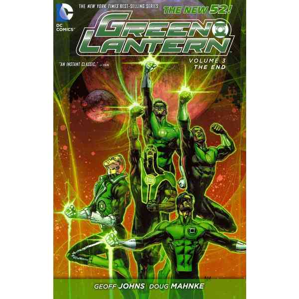 Green Lantern 3: The End (Paperback) 11676281