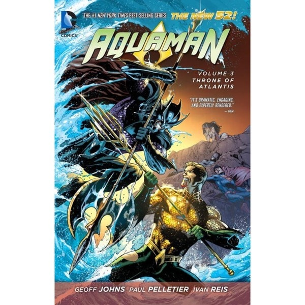 Aquaman 3: Throne of Atlantis (Paperback) 11676287