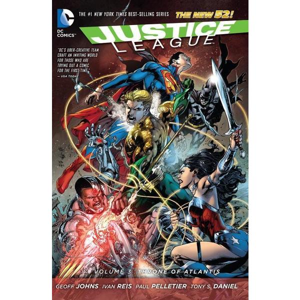 Justice League: the New 52 3: Throne of Atlantis (Paperback) 11676289