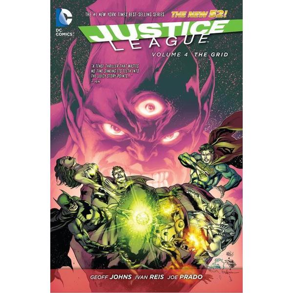 Justice League 4: The Grid, The New 52 (Hardcover) 11676368
