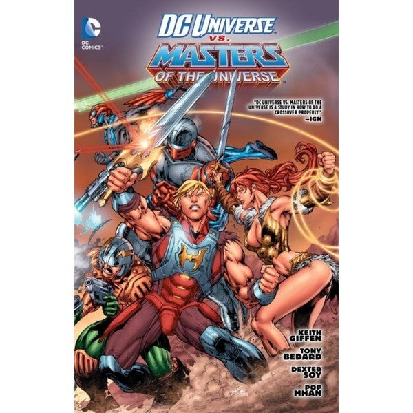 Dc Universe Vs. Masters of the Universe (Paperback) 11676369