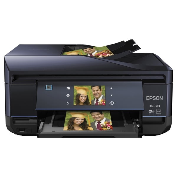 Epson Expression Premium XP-810 Inkjet Multifunction Printer - Color