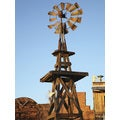 Ideal Decor 'Western Windmill' Wall Mural