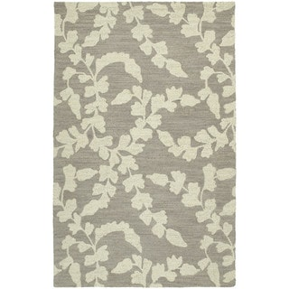 Zoe Grey Hand-tufted Wool Rug (8' x 10')
