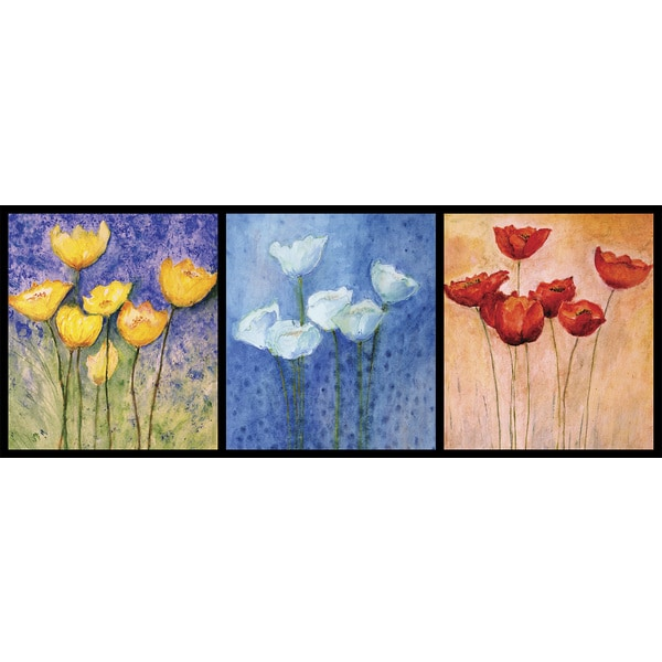 Ideal Decor 'Floral in Watercolour' Wall Mural