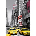 Ideal Decor 'Times Square' Wall Mural