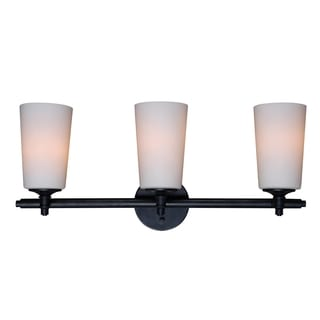 Calais 3-light Bronze Graphite Vanity