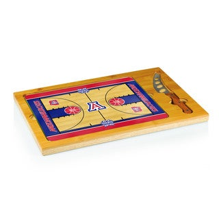 Basketballl Icon University of Arizona Wildcats Cheese Tray