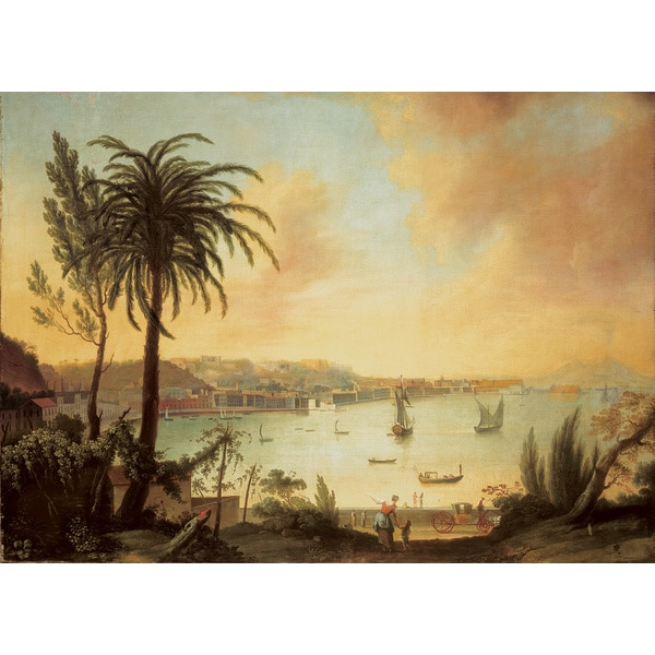 Brewster 'View of Naples' Wall Mural