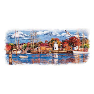 Brewster 'Seaside' Wall Mural