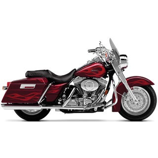 Brewster 'Harley Red Roadking Bike' Wall Mural