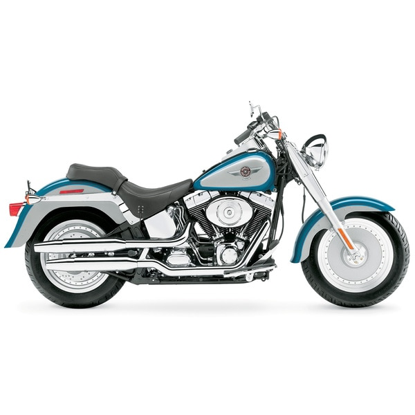 Brewster 'Harley Blue Fatboy Bike' Wall Mural