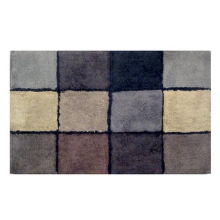 Veratex Oxford Geometric Bath Rug