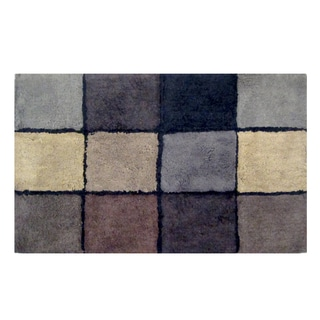 Veratex Oxford Geometric 20 x 33 Bath Rug