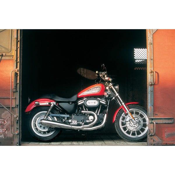 Brewster 'Harley RR Bike' Wall Mural