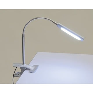 Studio Designs LED Art Clamp Lamp in Silver