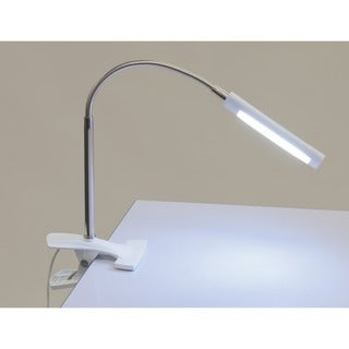 Studio Designs LED Art Clamp Lamp in White