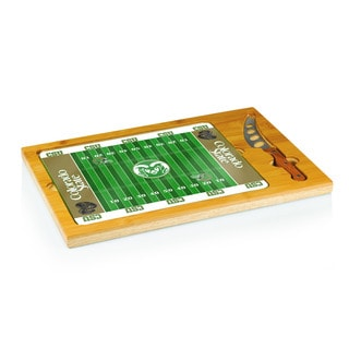 Football Icon Colorado State Rams Cheese Tray