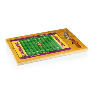 Football Icon Arizona State Sun Devils Cheese Tray