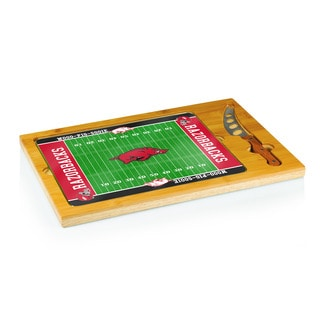 Football Icon University of Arkansas Razorbacks Cheese Tray