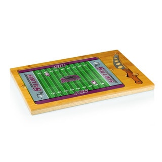 Football Icon Southern Illinois University Salukis Cheese Tray