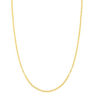 Fremada 14k Yellow Gold 0.85mm Cable Chain (18-inch)