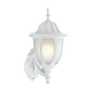 Suffolk Energy Star Collection Wall-mount 1-light Outdoor Textured White Light Fixture
