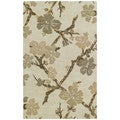 Euphoria Dogwood Sand Tufted Wool Rug (8'0 x 11'0)