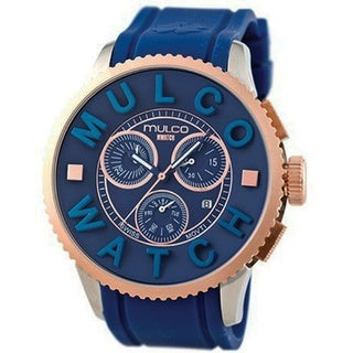 Mulco Men's Blue MWatch 3D Collection Chronograph Watch