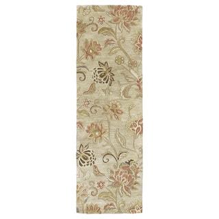 Euphoria Sand Tufted Wool Rug (2'3 x 7'6)